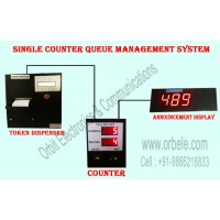 Electronic Queue Management System 1 counter